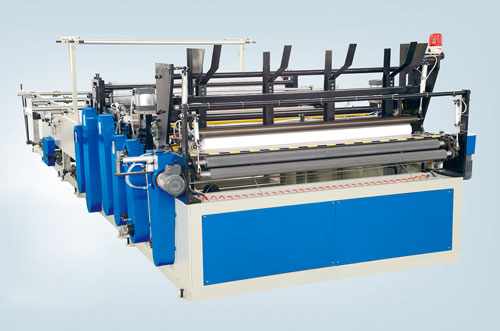 Traditional Toilet Paper Roller and Kitchen Towel Paper Production